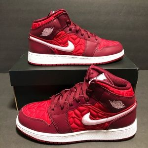 Air Jordan 1 Mid Size 6.5Y Or 8 Women's
